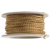 Twisted Artistic Wire 3Yd 20ga Non-tarnish Brass
